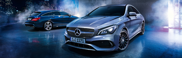 CLA Coupé and CLA Shooting Break