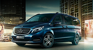 The Mercedes-Benz V-Class