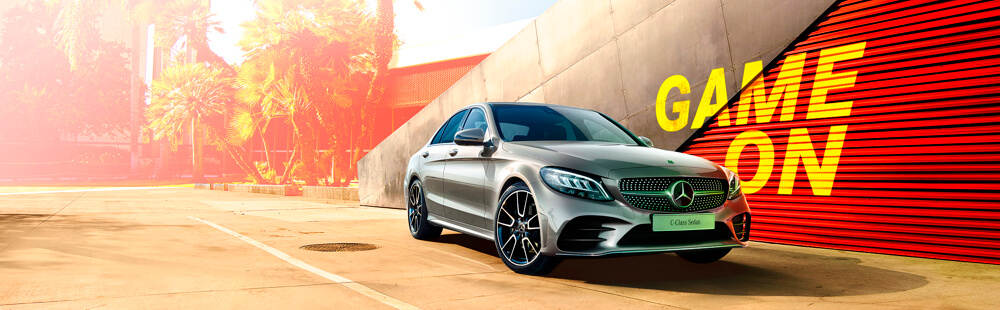 Mercedes Benz C-Class Game On