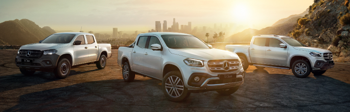 The new Mercedes-Benz X-Class
