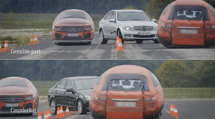 Mercedes-Benz Genuine Parts Video